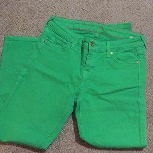 Kate Spade bright green pants